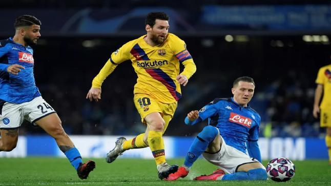 برشلونة يستقبل نابولي في ملحمة قوية من أجل التأهل لربع نهائي دوري أبطال أوروبا اليوم السبت 8 – 8 – 2020