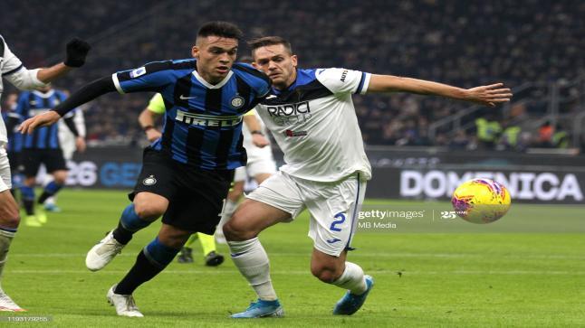 إنتر ميلان يحل ضيفا على أتالانتا في قمة الجولة الأخيرة من الدوري الإيطالي والصراع على المركز الثاني ولقب الوصافة