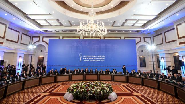 وفد المعارضة السورية المسلحة في أستانا يحمل روسيا عدم مشاركتها في جولة المفاوضات الجديدة