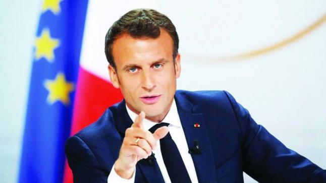 ماكرون يؤكد وصول طائرة فرنسية جديدة إلى لبنان للمساعدة فى تحقيقات انفجار بيروت