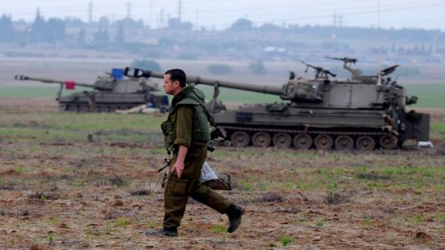 إنتهاكات إسرائيل تصل إلي غزة وتقدم لآليات إسرائلية داخل القطاع