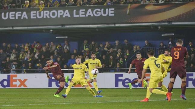 روما يقسوا على فياريال ضمن الدوري الاوربي لدور الـ 32 بنتيجة 4-0