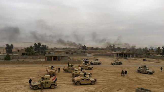 معركة الموصل تتواصل والقوات العراقية تقتحم حي النور