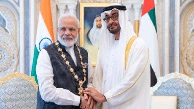 الهند:  نرحب بالاتفاق الإماراتي الإسرائيلي بوساطة الولايات المتحدة الأمريكية