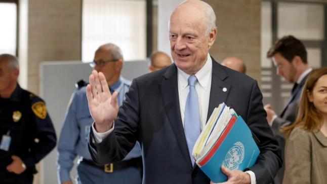 دي ميستورا يعلن من مجلس الأمن عن توجيه دعوات للأطراف السورية للمشاركة بجولة جديدة من مفاوضات جنيف