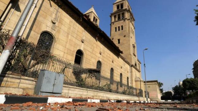 تنديد واسع بتفجير الكنيسة في مصر