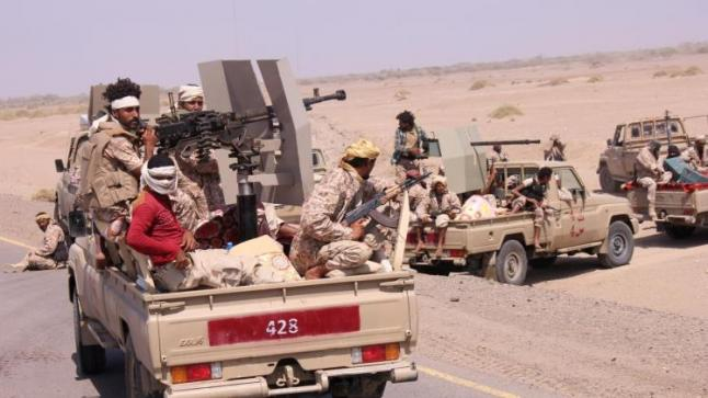 تقدم جديد لقوات الجيش الوطني اليمني والمقاومة الشعبية داخل الأحياء الشرقية لمدينة المخا