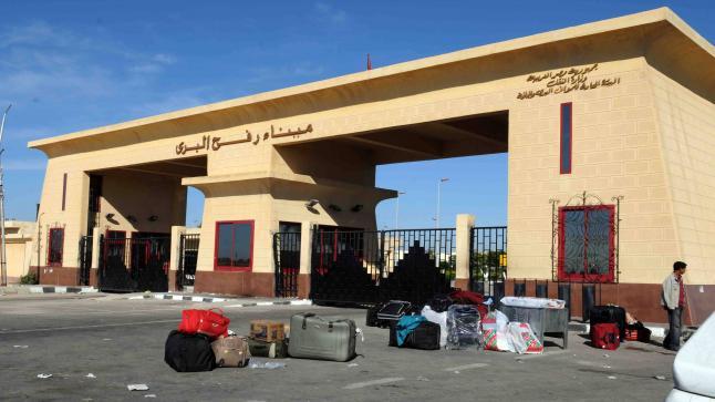 مصر تغلق معبر رفح أمام الفلسطيين