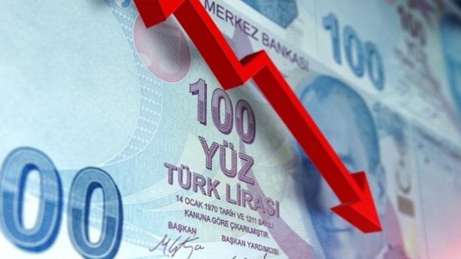 انهيار جديد في قيمة الليرة التركية