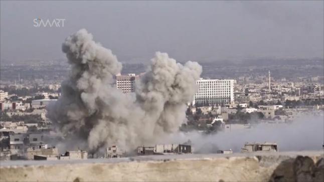 النظام السوري يقصف القابون بغاز الكلور، والمعارضة تلحق خسائر بقوات النظام في جبهة حماة