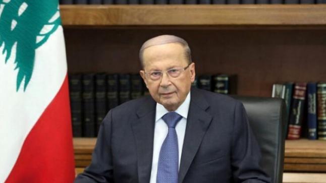الرئيس اللبنانى: من المحتمل ان يكون التدخل الخارجى وراء انفجار بيروت