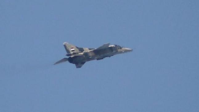 النظام السوري يعلن عن فقده لإحدى مقاتلاته على الحدود التركية .. وتركيا تبحث عن قائد الطائرة