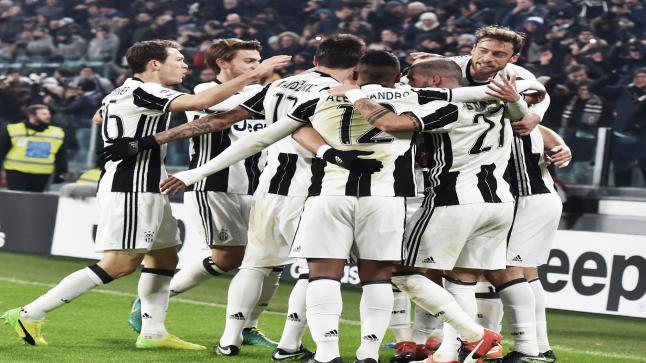 يوفينتوس يحقق العلامة الكاملة امام فريق روما