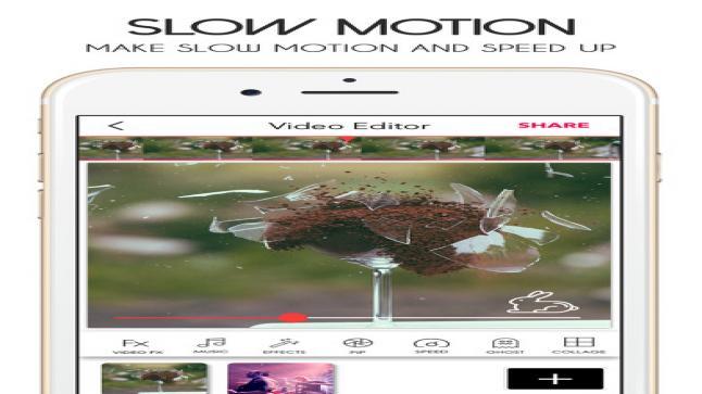 تطبيق Video Merger الخاص بتعديل الصور والفيديوهات متضمن فلاتير عديدة