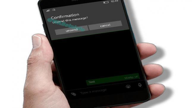 تطبيق واتساب يتحصل على تحديث جديد عبر هاتف ويندوز فون