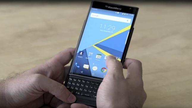 هواتف  BlackBerry PRIV تحصل على أفضل الهواتف من حيث الامان