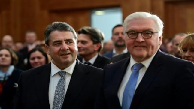 الإشتراكي سيغمار غابرييل خلفا لفرانك فالتر شتاينماير في وزارة الخارجية الألمانية