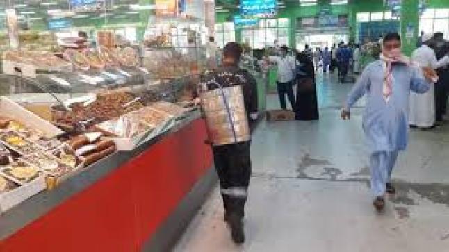 إعادة تأهيل صالات بيع الخضراوات والفواكه بالسوق المركزي في الكعكة
