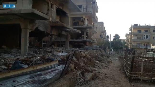 فتوى بإلغاء صلاة الجمعة في مدينة درعا السورية بسبب الغارات الجوية الروسية