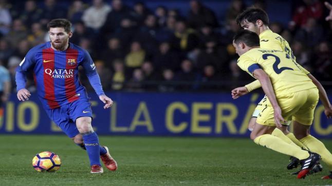 برشلونة يتلقي تعادل بطعم الخساراة ضد فياريال