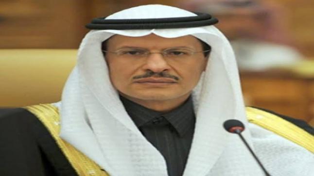 عبد العزيز بن سلمان يبحث تطورات سوق النفط مع وزير الطاقة العراقي