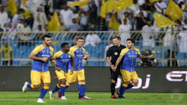 النصر يقرر مكافآت مالية للاعبيه لعبور الاتحاد بنصف النهائي