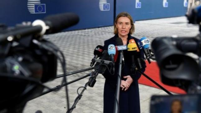 الاتحاد الأوروبي ينتقد ضمنيا الجدار الحدودي المزمع بناؤه بين المكسيك وأمريكا