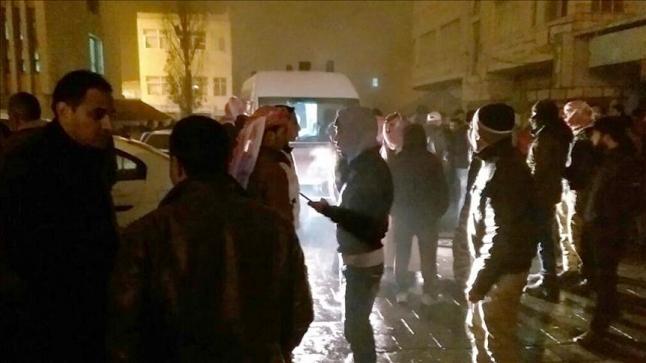 إشتباكات بين قوات الأمن الأردنية ومجهولين